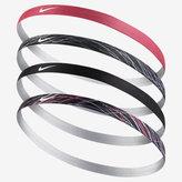 Nike Assorted Big Kids' (Girls') Headbands (4 Pack)