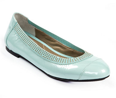 Me Too Kailani Patent Leather Embellished Flats