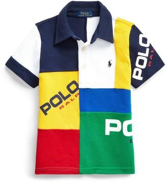 Ralph Lauren Kids Colour-Block Polo Shirt (5-7 Years)