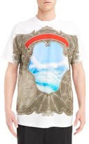 Givenchy Men's Currency & Sea Print T-Shirt