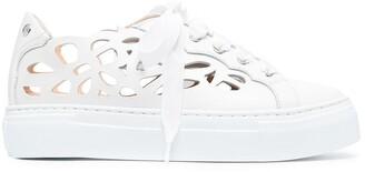 AGL Mandi laser-cut sneaker