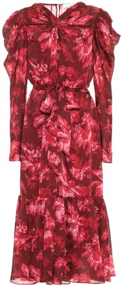 Zimmermann Ladybeetle floral midi dress