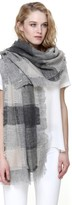 Soia & Kyo NICIA multi-coloured woven scarf in pebble