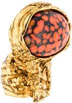 Saint Laurent Arty Ovale Ring