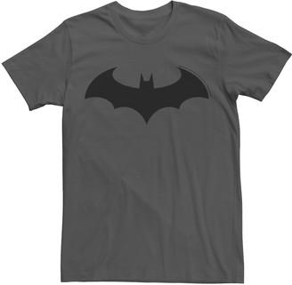 Dc Comics Men's Batman Modern Chest Emblem Tee