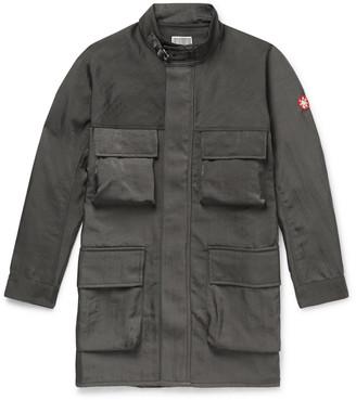 Cav Empt Oversized Appliqued Tech-Twill Coat