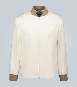 Brunello Cucinelli Lightweight bomber jacket