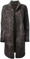 Liska - 'Hyrmes' coat - women - Lamb Fur - S