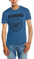 Amplified Men's Ramones Logo Short Sleeve T-Shirt