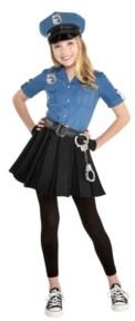 Amscan Big Girls Cop Cutie Costume
