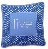 One Grace Place 10-18b030LIVE Simplicity Blue-Decorative Pillow-Live