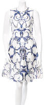 Prabal Gurung Floral Print A-Line Dress