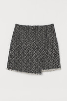 Thumbnail for your product : H&M Textured-weave skirt