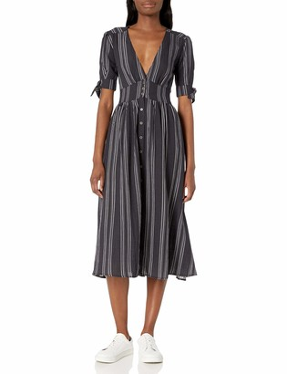 LIRA Women's Maverick Striped Vneck Dress