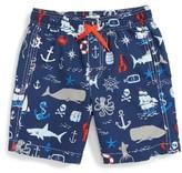 Hatley Toddler Boy's Vintage Nautical Swim Trunks