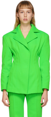 Kwaidan Editions Green Sculptural Blazer