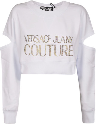 Versace Cut-out Couture Sweater