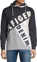 Tommy Hilfiger Men's Blocking Drawstring Sweater