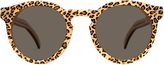 Illesteva Leonard II Cheetah Brown