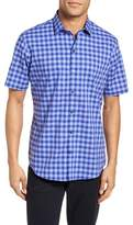Zachary Prell Martines Plaid Sport Shirt