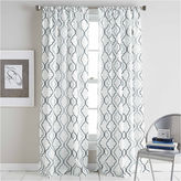 Asstd National Brand Coco Rod-Pocket Curtain Panel
