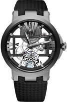 Ulysse Nardin 1713-139 Skeleton Tourbillon titanium watch