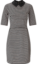 Marella None Stripe Jersey Dress, Powder