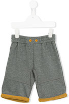 Armani Junior elasticated waistband shorts - kids - Polyester/Cotton - 5 yrs