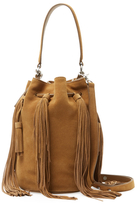 Loeffler Randall Industry Suede Bucket Bag