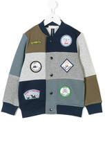 Stella McCartney Roy Badges bomber jacket