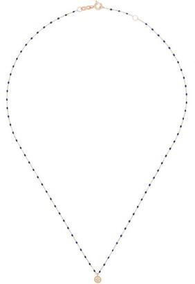 Gigi Clozeau 18kt Gold Diamond Pendant Necklace