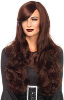 Leg Avenue Brown Long Wavy Wig
