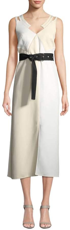 Derek Lam Women's Colorblocked Cami Dress