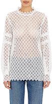 IRO Women's Amia Geometric Lace Blouse-IVORY
