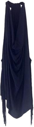 Bel Air Black Silk Top for Women