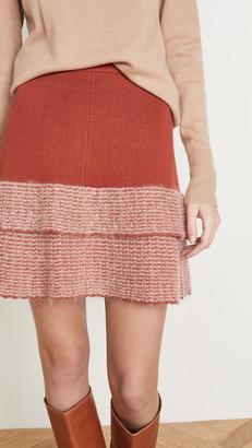 JoosTricot Mohair Miniskirt