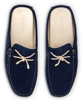 Frette Caycoco men's suede moccasin slippers - Size 40