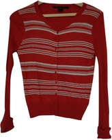 Marc Jacobs Red Silk Knitwear