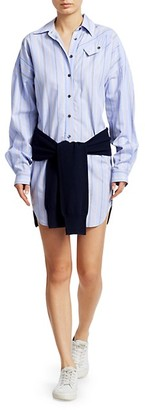 Derek Lam Shirt Sweatshirt Dress