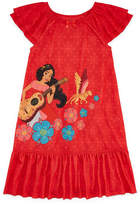 Disney Long Sleeve Elena of Avalor Nightshirt-Big Kid Girls