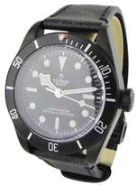 Tudor Heritage Black Bay Stainless Steel / Leather 41mm Mens Watch