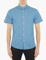 Éditions MR Short Sleeved Denim Shirt