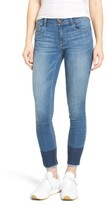 1822 Denim Women's Two-Tone Skinny Jeans