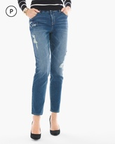 Chico's Conversational Girlfriend Ankle Jeans