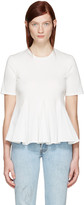 Edit White Godet T-shirt