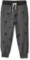 Gap babyGap x (RED) graphic fleece pants
