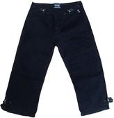 Jean Paul Gaultier Navy Cotton Trousers for Women Vintage