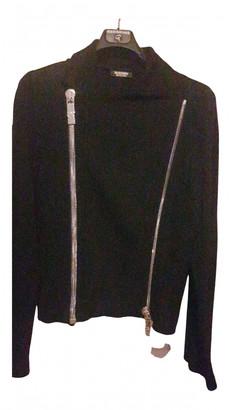 Dirk Bikkembergs Black Cotton Jackets