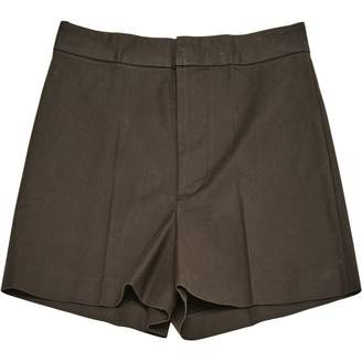 DSQUARED2 Brown Cotton - elasthane Shorts