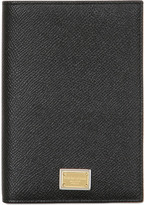 Dolce & Gabbana Dauphine Leather Passport Case